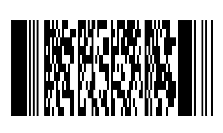 Фото штрих-кода карты магазина Карусель.