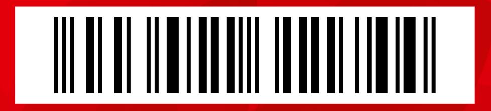 Фото штрих кода карты магазина Окей.