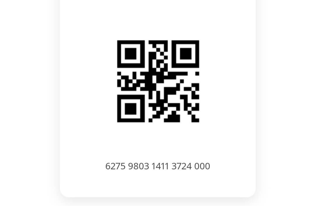 Фото QR кода карты Икеа Фэмили.